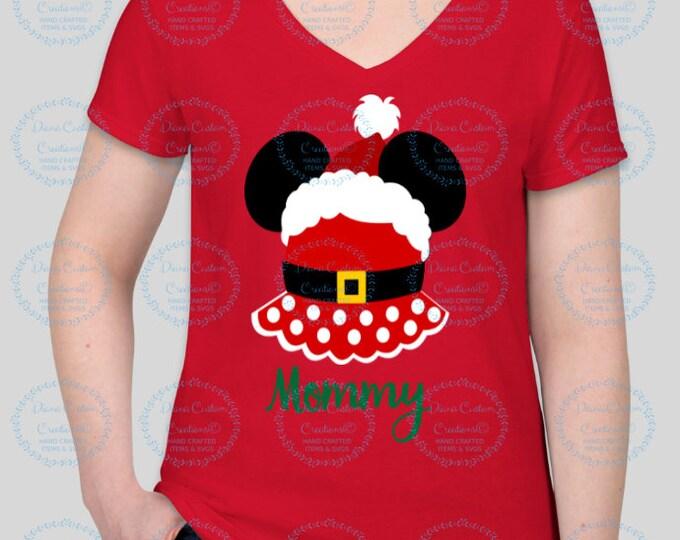 Disney Shirt, Disney Christmas, Christmas 2018, Minnie Clause, Mickey head, Minnie Christmas, Very Merry Christmas, Disney Holiday, Xmas