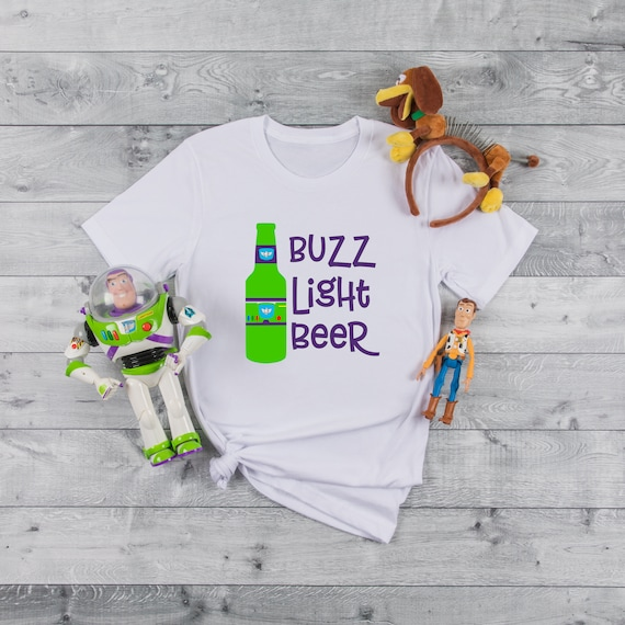 Buzz Light Beer, Toy Story, Buzz lightyear, Beer, Food and Wine, Drink around the world, To infinity and beyond, Toy Story Land, Woody
