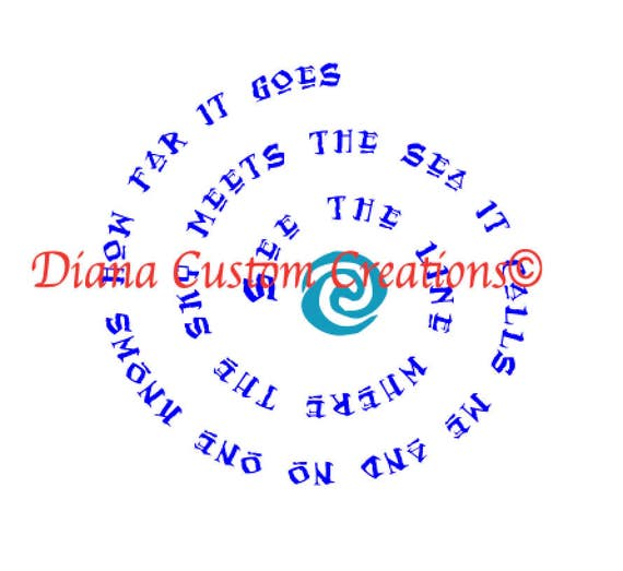 Moana heart of te fiti svg jpeg dxf png eps Cricut Silhouette