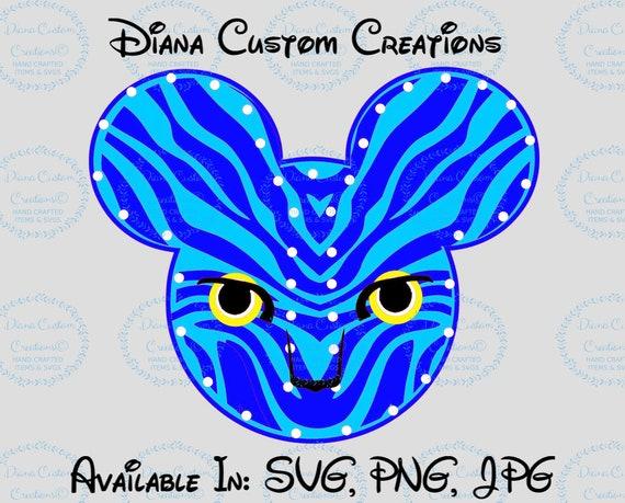 Disney SVG, Pandora, Avatar, Pandora SVG, Avatar Svg, Avatar Character, Flight of Passage, Na'vi River, World of Avatar, Navi River, Cricut