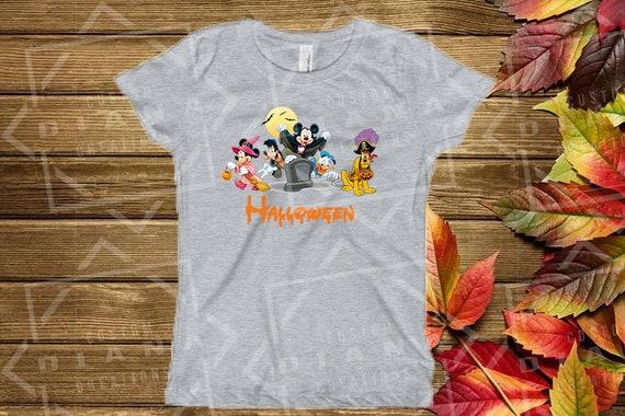 Halloween shirt, Mickey Mouse Halloween, Disney Halloween, Halloween, MNSSHP, Disney, Fab 5, Fab 5 Halloween, Donald, Goofy, Daisy, Pluto