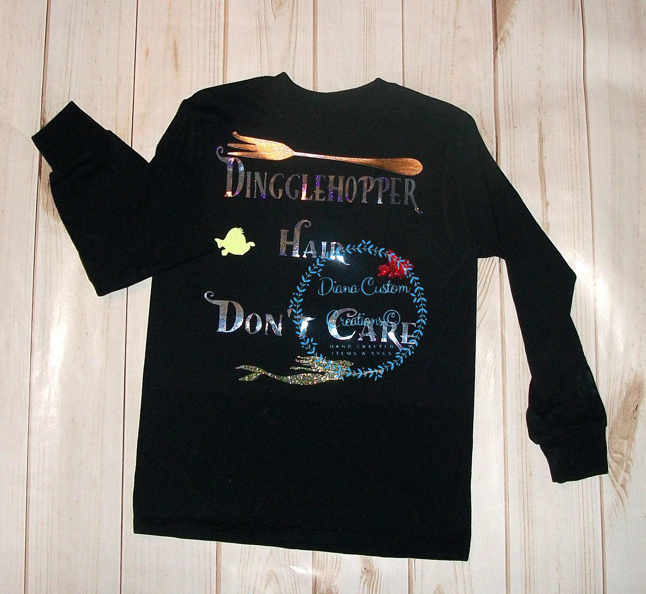 cfe360b3e Disney Shirt, Dinglehopper, Dinglehopper Hair, Dinglehopper Shirt, Ariel, Ariel  Shirt, Flounder, Sebastian, Little Mermaid, Mermaid, Disney