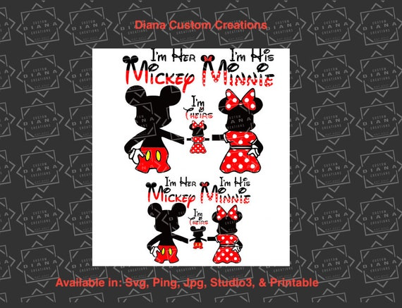 Mickey and Minnie back, Mickey back, Minnie back, couples shirts, SVG, PNG, Studio3, Jpg, Cricut, Silhouette, Disney Shirt, Family, matching