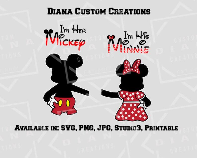 8de8b74ca38a Mickey and Minnie back Mickey back Minnie back couples
