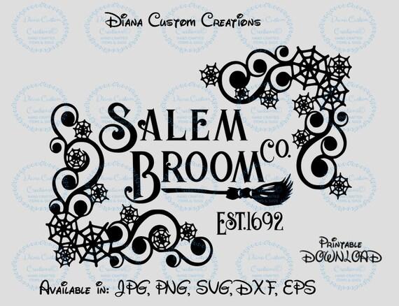 Disney, Sanderson Broom Co, Sanderson Sisters, Hocus Pocus, Disney Halloween, Disney SVG, Halloween SVG, Halloween, Broom Company