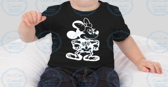 Halloween shirt, Mickey Halloween, Minnie Halloween, Minnie Skeleton, Disney Halloween, MNSSHP, Disney Skeleton Shirt, Mickey Skeleton