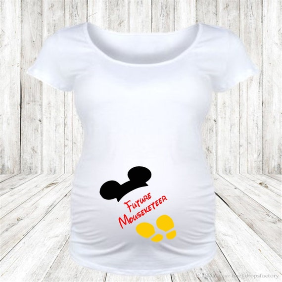 Maternity, Disney Maternity, New Baby, New Mom, Baby Announcement, Disney Baby, Mickey, Minnie, Future Mouseketeer, Future Cast Member, Gift
