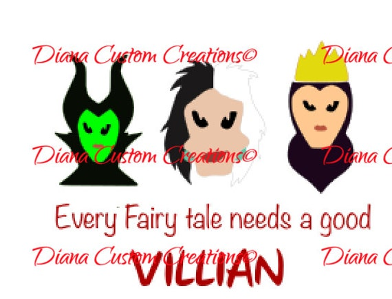 Every Fairytale needs a villain cricut silhouette