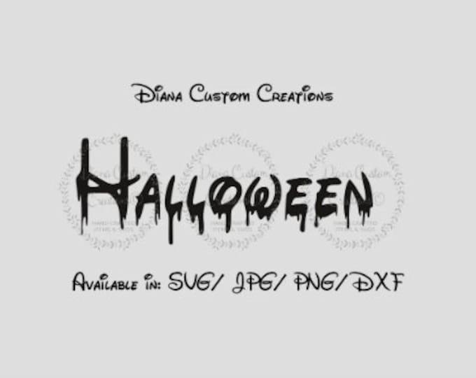 Halloween Waltograph, Halloween Drip, Halloween Dripping, Halloween word, Waltograph, Walter, Dripping, Cricut, Silhouette, SVG, PNG, JPG