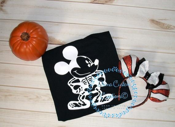Halloween shirt, Mickey Mouse Halloween, Disney Halloween, Halloween, MNSSHP, Skeleton Shirt, Mickey Skeleton, Minnie Skeleton, Disney