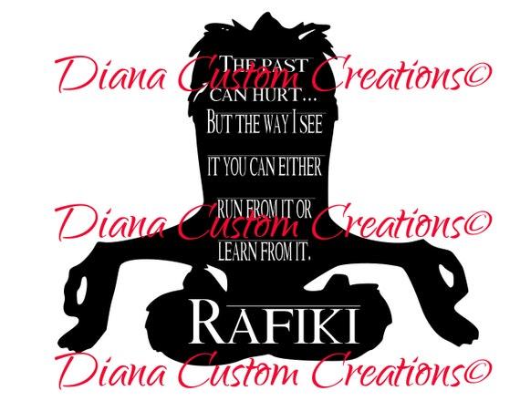 Disney, Rafiki, the lion king, lion king quote, Rafiki SVG, Lion King SVG, Png, SVG, JpG, Cricut, Silhouette, Printable, Digital File