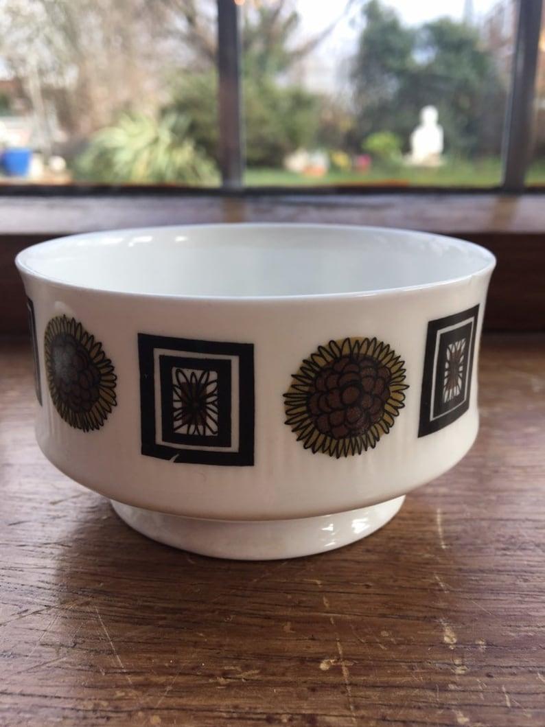 RETRO 1950/'s bone china SHERIDEN jug and sugar bowl