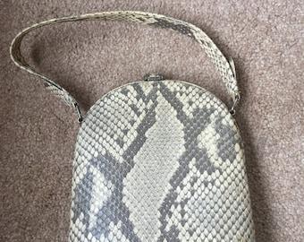 Vintage handbag (snakeskin)
