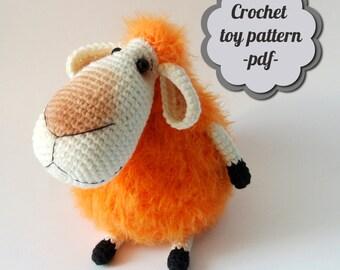 "Crochet pattern amigurumi ""Sheep"" pdf"