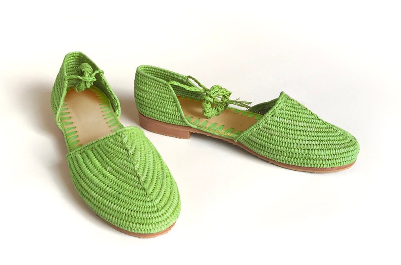 6d2a3def4 Lime Green Shoes. Lime Green Sandals. Lime Green Raffia shoes.