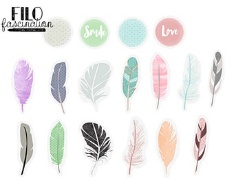 Hipster Feathers Etsy