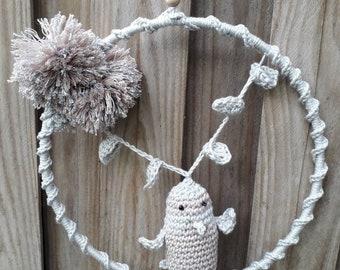 MOBILE bird crochet
