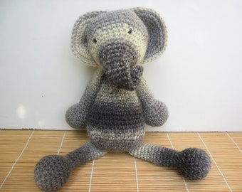Crochet ELEPHANT toy PLUSHIE