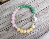 Love and Abundance - Reiki Infused Bracelet