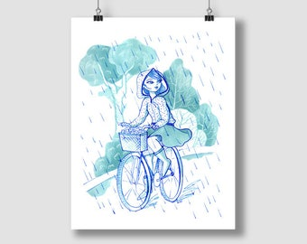 Rainy days - Print