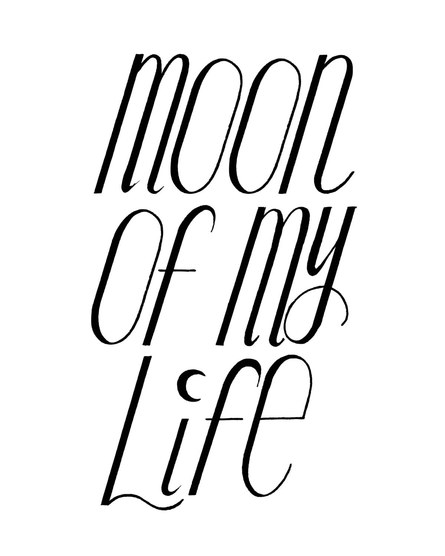 Mond Meines Lebens