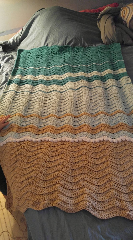 Sea Turtle Crochet Blanket Blanket Pattern Only Etsy