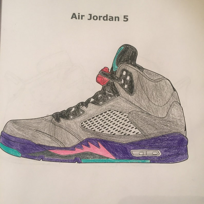 Livre de coloriage Air Jordan | Etsy