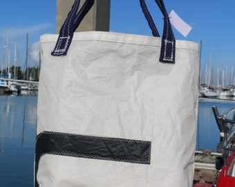 37e2fc601727 Recycled Sailcloth Tote Bag