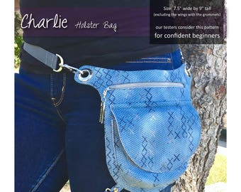 Charlie Holster Bag - Pattern with Instructions