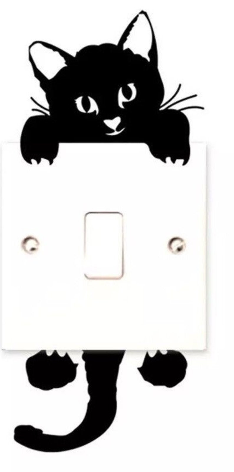 Cat Paws The Movie Light Switch Plate Wall Cover Pet Decor