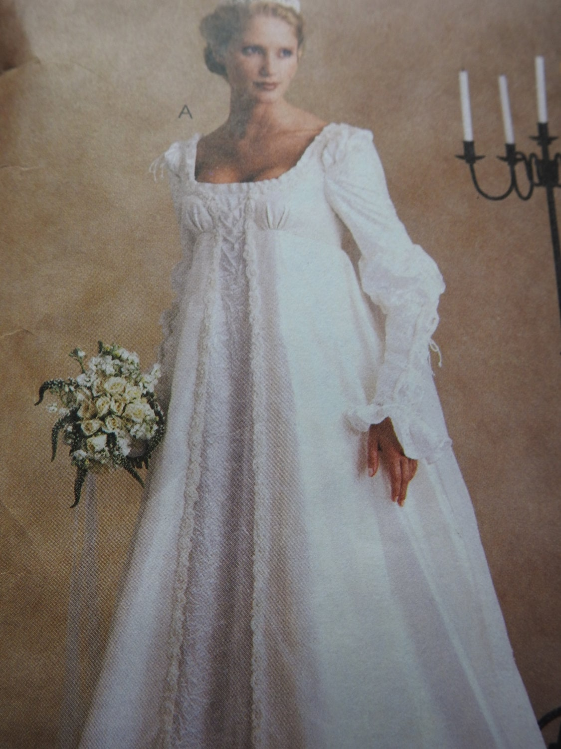 McCalls 2645 Women\'s Medieval Wedding Gowns Sewing Pattern from ...