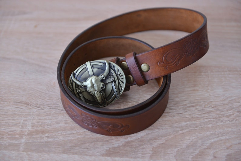 I Love My ROTTWEILER Antique Silver Belt Buckle USA MADE