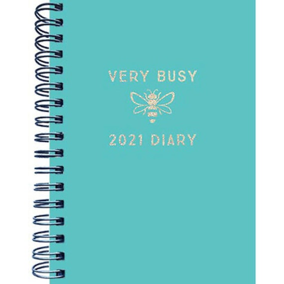 PERSONALISED A6 Academic Mid Year 2020//2021 Diary Teacher//Uni//Business//School