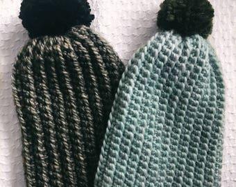 Holly Beanie Pattern - Crochet Beanie Pattern - Beginner Crochet Pattern
