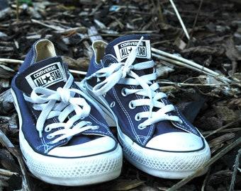 10fa73e13ec8 Mens Blue Converse Pumps Size 7 UK Euro 40 unisex sneakers trainers casual  shoes