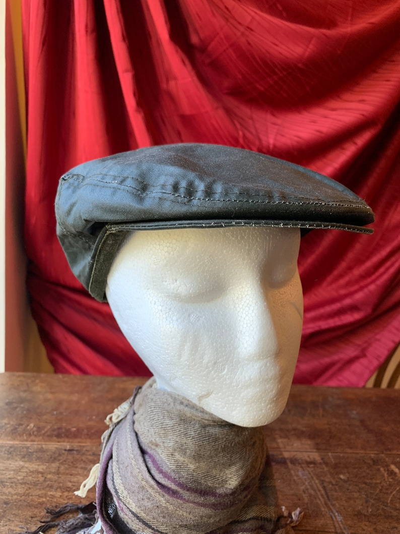 Vintage Waterproof Lined Newsboy Cap approx 57 cm  661f6265b1d