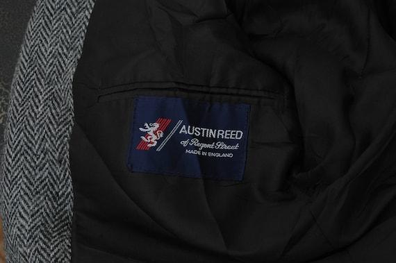 Mens Harris Tweed Jacket Austin Reed Size Large Etsy