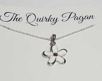 REDUCED, Flower Necklace, Daisy Jewelry, Floral Necklace, Daisy Necklace, Daisy Flower, Boho Necklace, Nature Necklace,Daisy Jewellery,