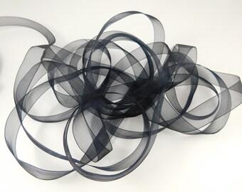 3 yds,organza ribbon,shimmer ribbon,sheer ribbon,ribbon for crafts,ribbon for bows,ribbon by the yard,scrapbooking ribbon.