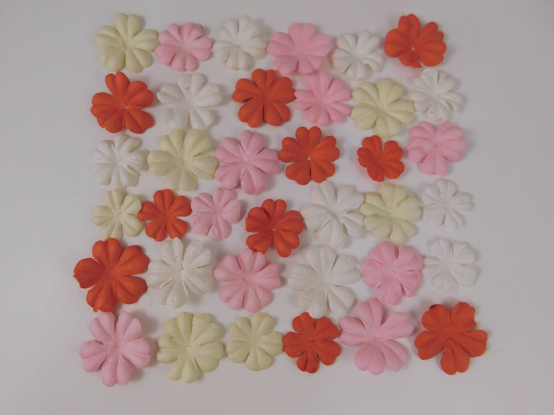 Prima Paper Flowers Pink Valentine Assortment No 412 Got Etsy