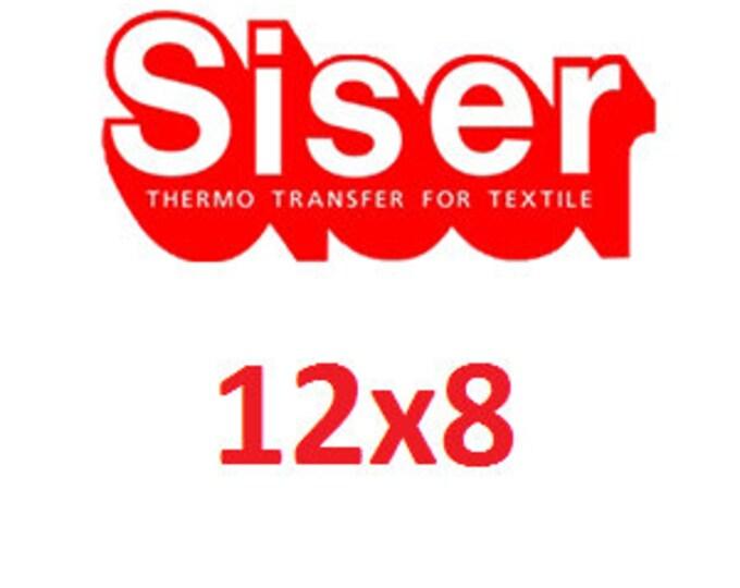 """8""""x12"""" Siser Easyweed Heat Transfer Vinyl (HTV)"""