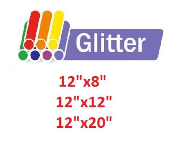 Siser Glitter Craft Vinyl HTV