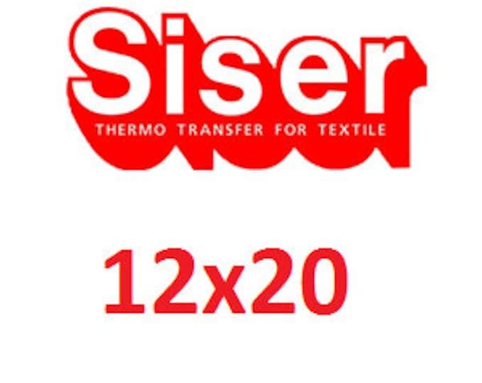 """12""""x20"""" Siser Easyweed Heat Transfer Vinyl (HTV)"""