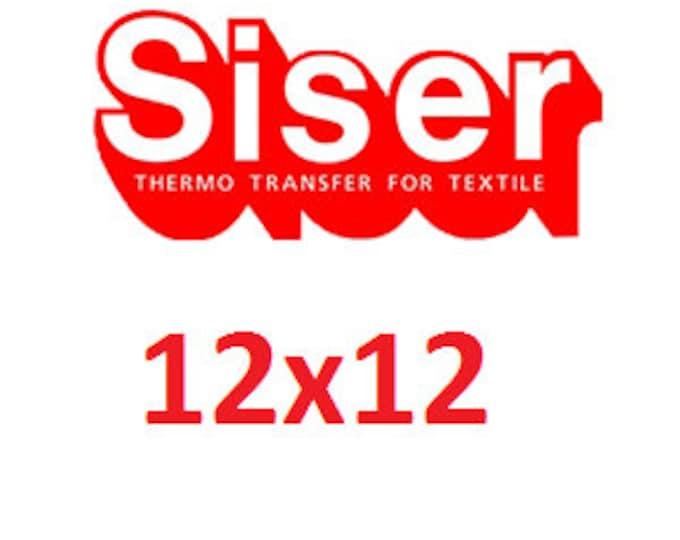 """12""""x12"""" Siser Easyweed Heat Transfer Vinyl (HTV)"""