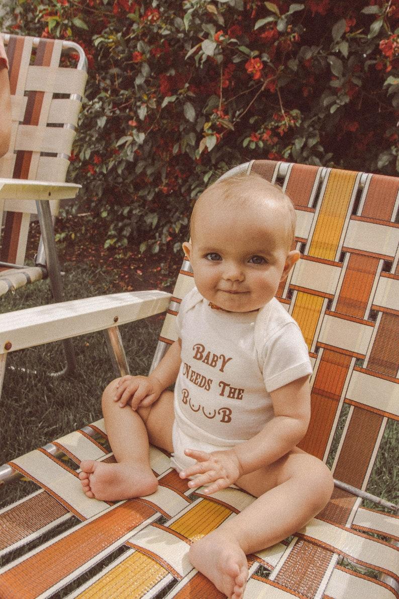 d1128fe6fb12b Baby Needs the Boob Onesie funny onesie unisex onesie baby | Etsy