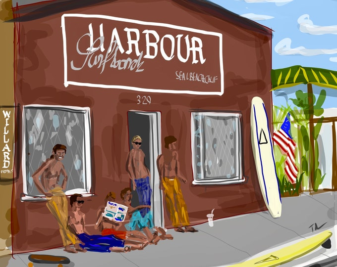 Old Harbour Shop