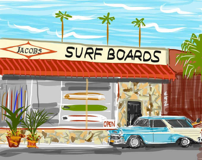 60s Jacobs Shop on PCH