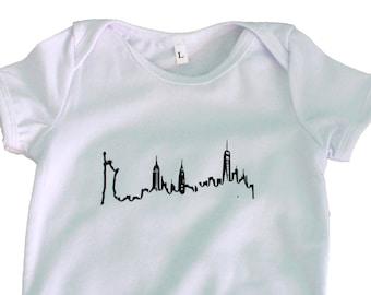 New York City Skyline BodySuit/T-shirt