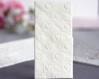 25 Embossed handkerchiefs for Tears of joy//embossing: Herzen_5