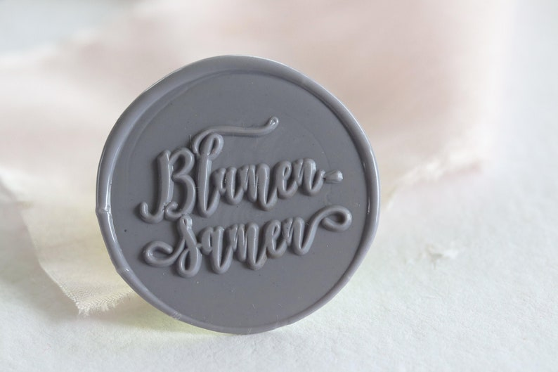 10 Wax seal flower seeds  Let love grow / guest image 0